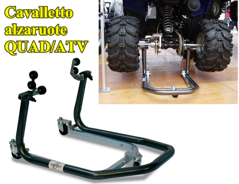 Cavalletto alzaruote QUAD ATV