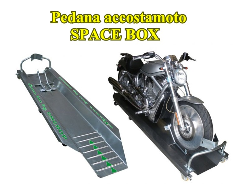 Pedana accostamoto SPACE BOX